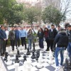 scacchiera gigante