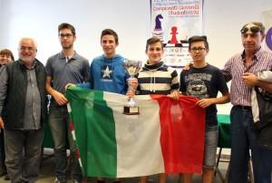 squadra liceo scientifico Ruggeri Marsala TP