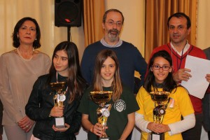 podio Under 12 Femminile