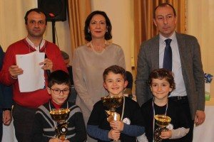 podio Under 8 Maschile
