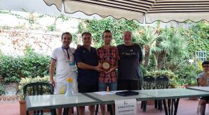 Premiazione 1° assoluto MF Alessandro Santagati