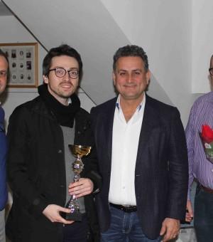 Il vincitore del Torneo Andrea Amato