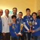 La premiazione della squadra vincitrice la Lilybetana A